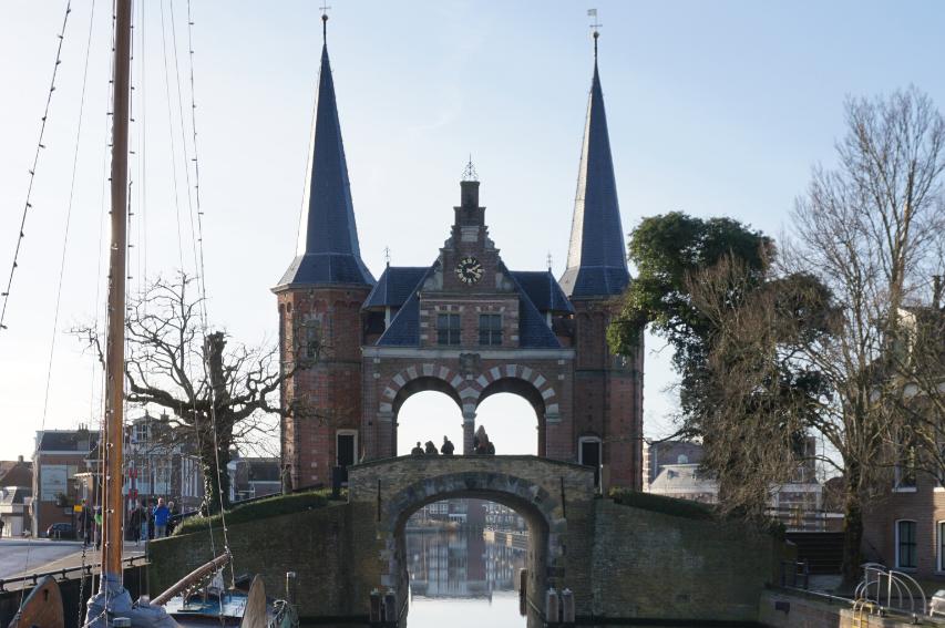 sneek-friesland-niederlande