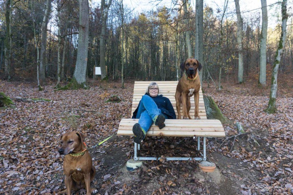Pause im Westerwald
